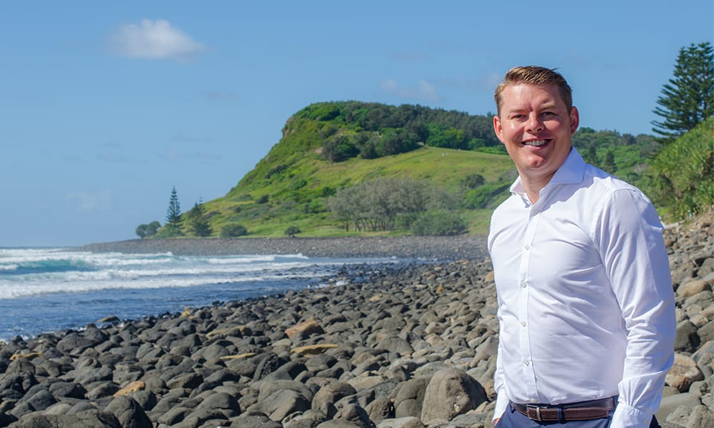 Lennox Head homecoming for top real estate agent Nick Bordin
