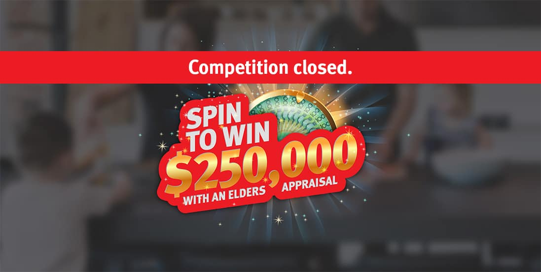 Elders Spin to Win closed banner